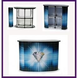 """31"""" Deluxe  (Black)  Roll Up Stand"""